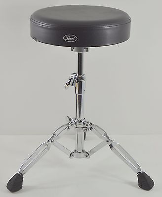 Pearl Double Brace Drum Throne Stool Drummer Percussion Great Condition!