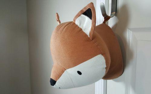 Levtex Baby Fox Head Wall Decor Nursery Pre Owned