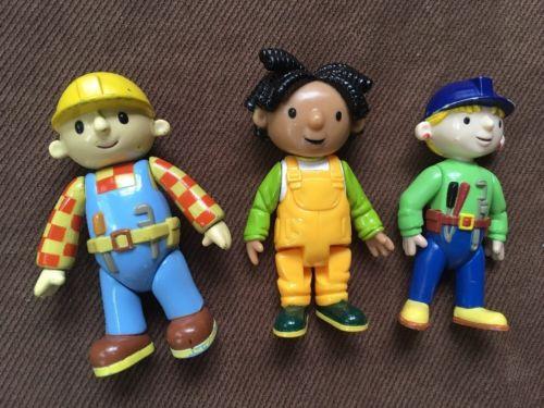 Bob the Builder Lot of 2 Bob & Wendy 4