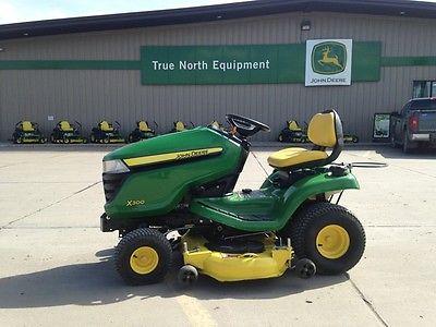 2015 John Deere X300 Garden Tractors