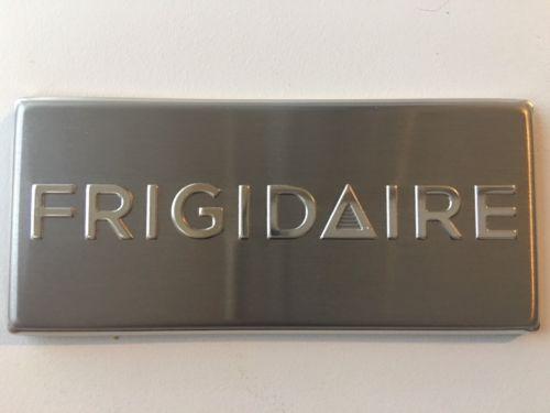 Frigidaire Appliance Badge Logo Nameplate Emblem