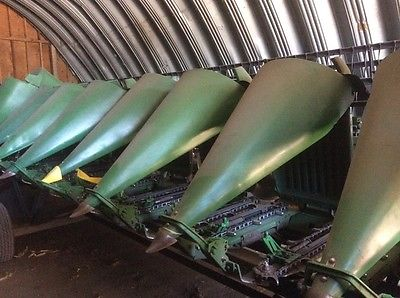 1998 John Deere 893 Headers