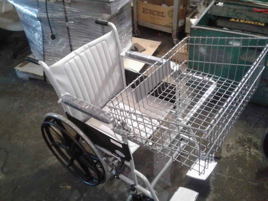 Wheel Chair with Basket