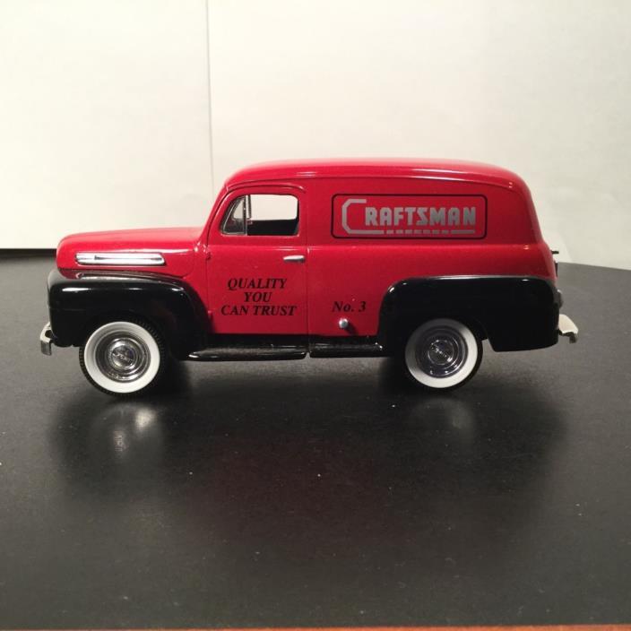 Liberty Classics - 1948 Ford Panel Van - Craftsman Tools - Opening door with key