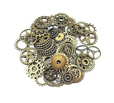 Gears Charms Pendant Clock Watch Wheel Gear Crafting Jewelry Making Accessory