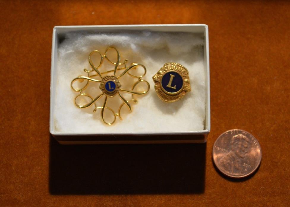 Vintage Lioness Club Pins