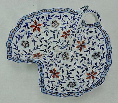 Nice Art Nouveau divided dish with beehive mark, probably Royal Vi  (BI#MK/0417)