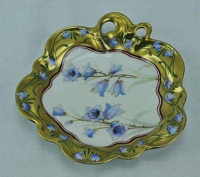 "Antique Rare W A Pickard Hand painted China Bowl / Serving Dish 7""  (BI#MK/0417)"