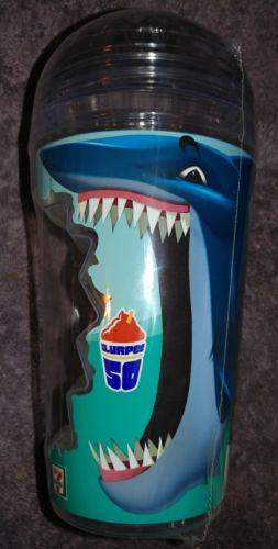 7-11  SHARK  WEEK  SLURPEE  CUP  BRAND  NEW  SEALED