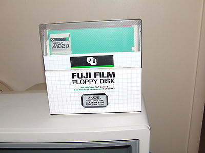 Fuji Film 360K Floppy Diskettes - Box of 10 - NEW - Sealed - 5 colors