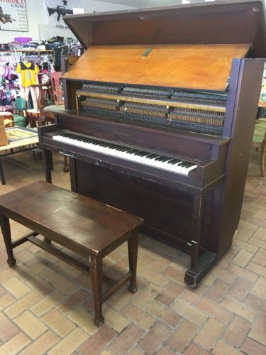 Antique Piano, 1923 Schroeder & son W/ Amco Bench