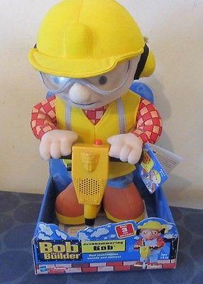 Bob the Builder Jackhammering Bob NEW IN PACKAGE