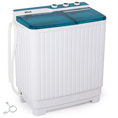 Della Portable All in One Combo Washer and Electric Dryer