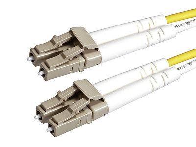 Fiber Optic Cable, LC/LC, OM2, Multi Mode, Duplex -3 meter (50/125 Type) Orange