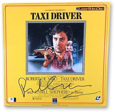 Paul Schrader Signed Autographed Laserdisc Cover Taxi Driver Screenwriter 866104