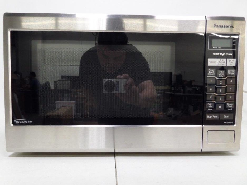 Panasonic 1.2 cu. ft. Microwave Oven with Inverter (50079)