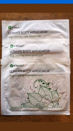 It Works! Authentic Body Wraps tone/tighten/firm tummy tuck lose weight NEW