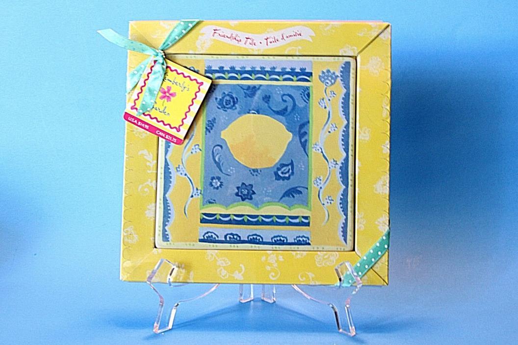 Hallmark Friendship Tile Trivet Kimberly Hodges, NEW in Box, Ceramic