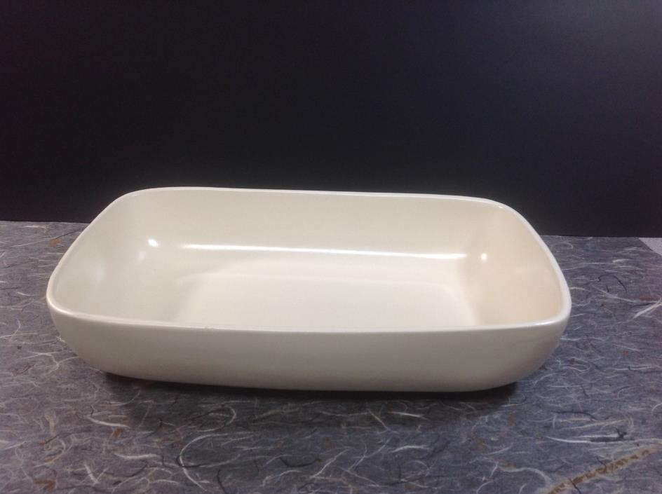 Heager USA Art Pottery #3514 Ivory Serving Dish Planter
