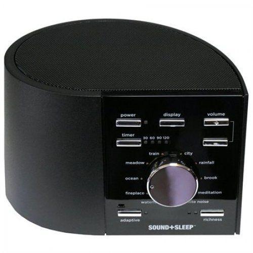 SOUND+SLEEP Adaptive Sound Sleep Therapy System Home Audio Sleeping Aid Health