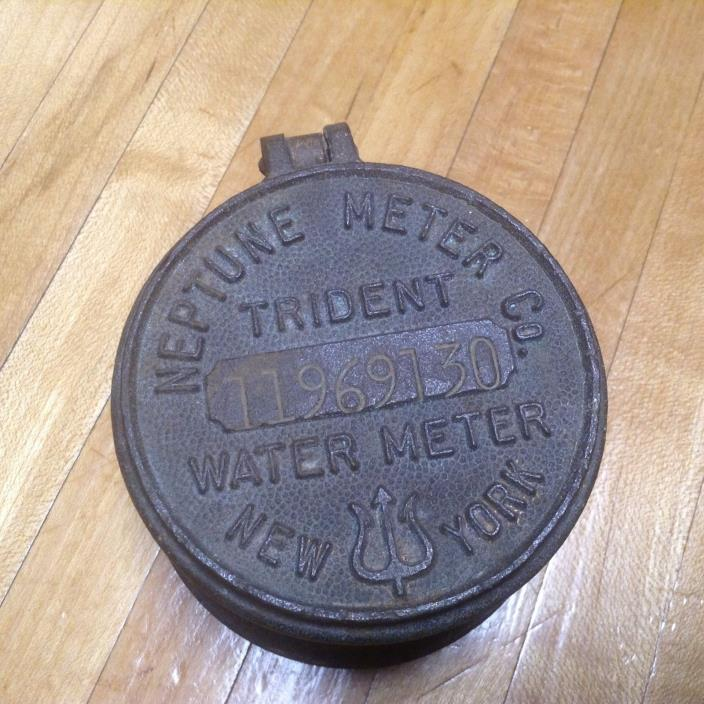 TRIDENT NEW YORK NEPTUNE Brass Water Meter Cap