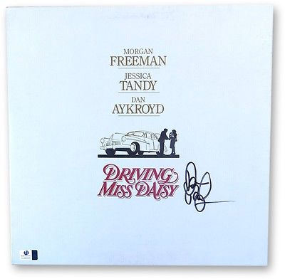 Dan Aykroyd Signed Autographed Laserdisc Cover Driving Miss Daisy GV865951