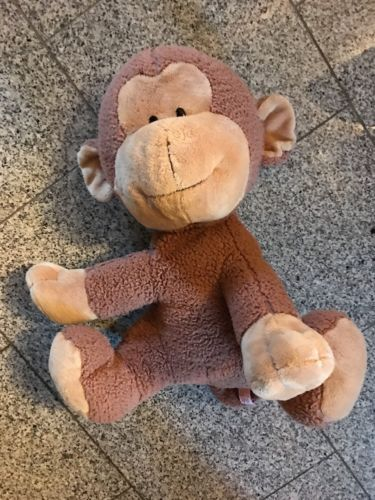 FAO Schwarz Large Plush Monkey Stuffed Animal 17