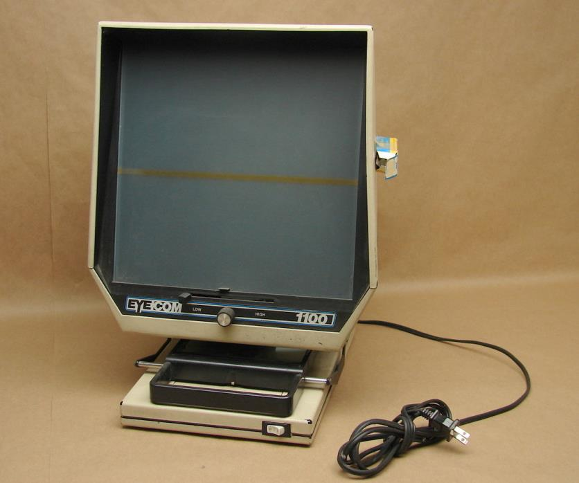 Vintage Yamaha Microfiche