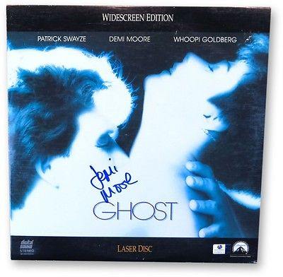 Demi Moore Signed Autographed Laserdisc Cover Ghost Cover Only GV865972