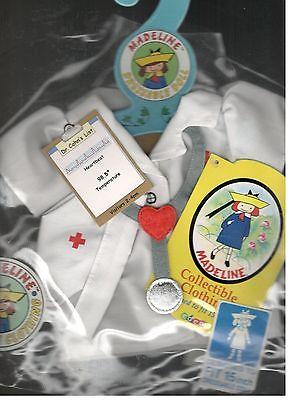 Madeline 15 inch Doll Ragdoll Nurse Outfit Eden Stethoscope Cap  New