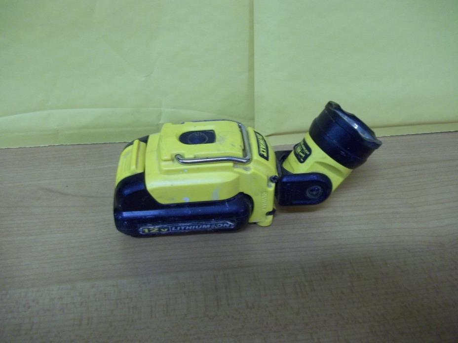 Dewalt DCL510 12V Max LED Worklight & One Dewalt DCB120 12V Battery