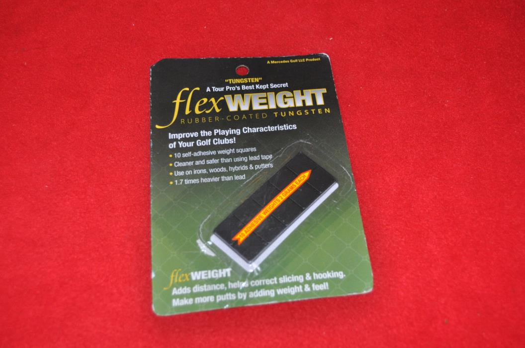 Flex Weight Adhesive Tungsten Weights