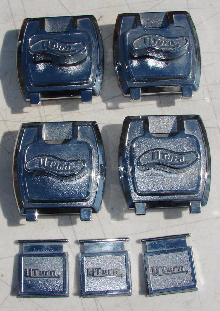 U Turn Candy Vending Machine Coin Mech Mechanism 25 Cent Metal Lot of 4 Used
