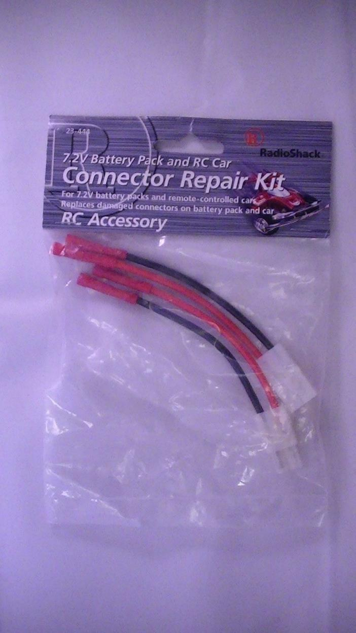 Radio Shack 7.2Volt Battery Pack and RC Car Connector Repair Kit #230-0444