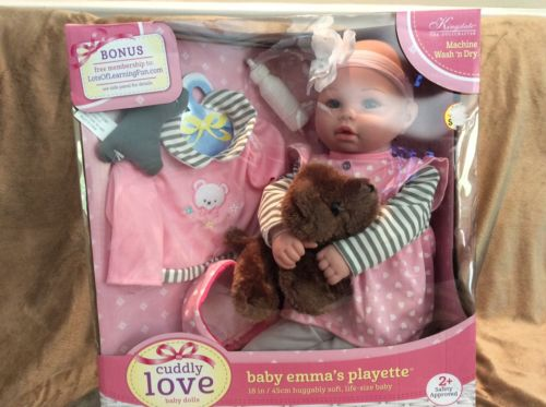 NEW Baby Emma's Playette 18
