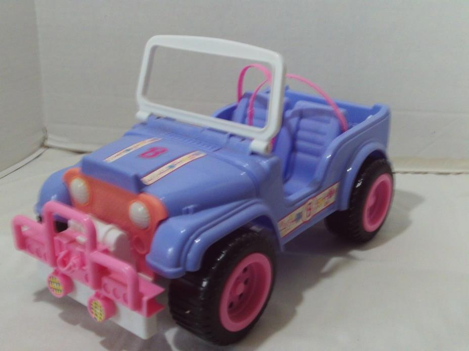 Barbie Jeep Purple Beach Surfer Vehicle FREE SHIPPING