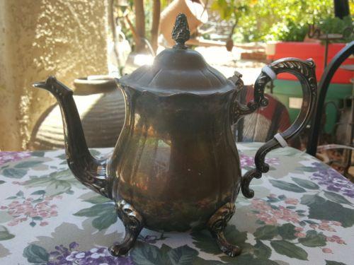 Vintage silverplate Leonard teapot