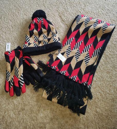 Vera Bradley Hat, Gloves and Scarf Set