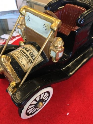 Old Ceramic 1910 Ford Car Decanter