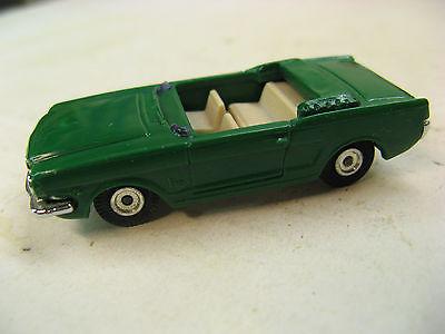 Aurora Vintage HO 1963 – 1969 Green Mustang Convertible, Cigar Box / Thunderjet