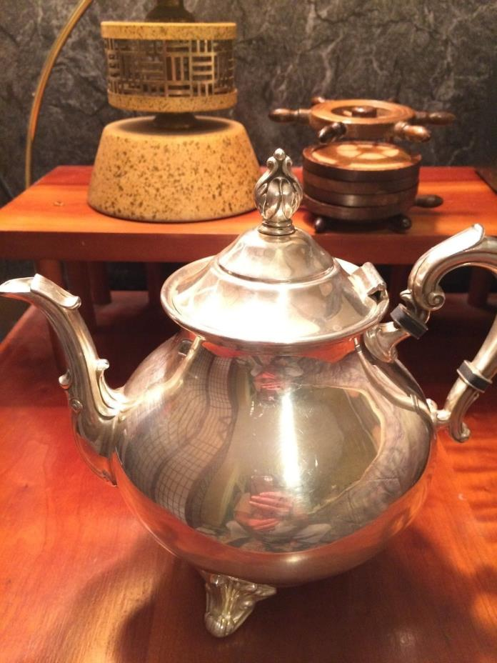 Vintage E.P.C silver teapot