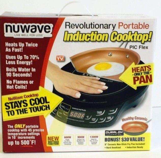 NuWave Induction Cooktop Pic Flex Portable 9