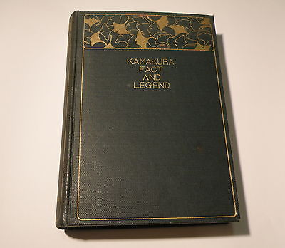 Kamakura Fact And legend: THE RARE 1930 EDITION  Guide Book As it was and still