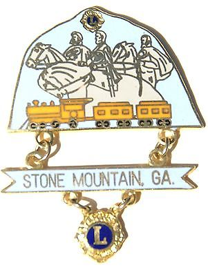 Stone Mountain Georgia Lions Club pin