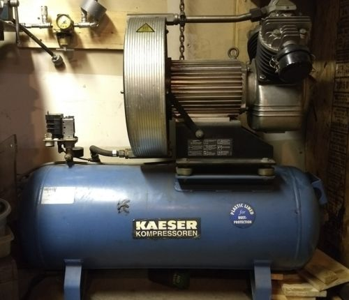 KAESER Eurocomp EPC 840-100 Reciprocating Air Compressor