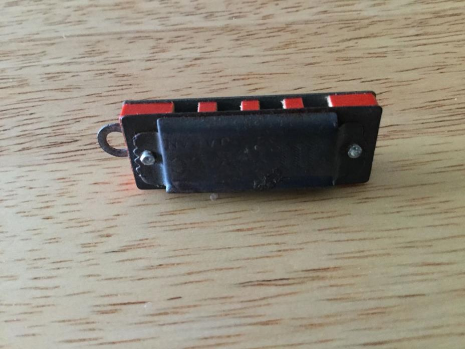 ***VERY OLD*** Miniature Metal Harmonica From Japan