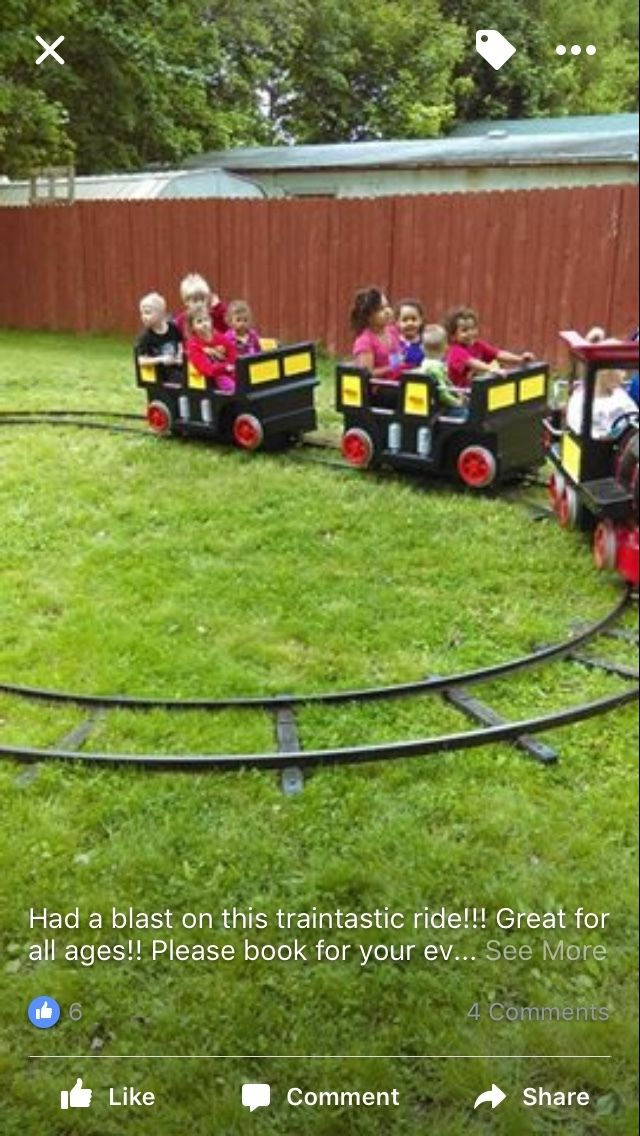 Kiddie Ride Carnival Train