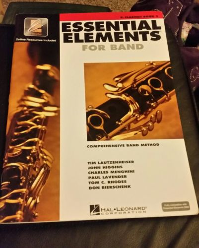 Essential Elements for band B clarinet book 2 New