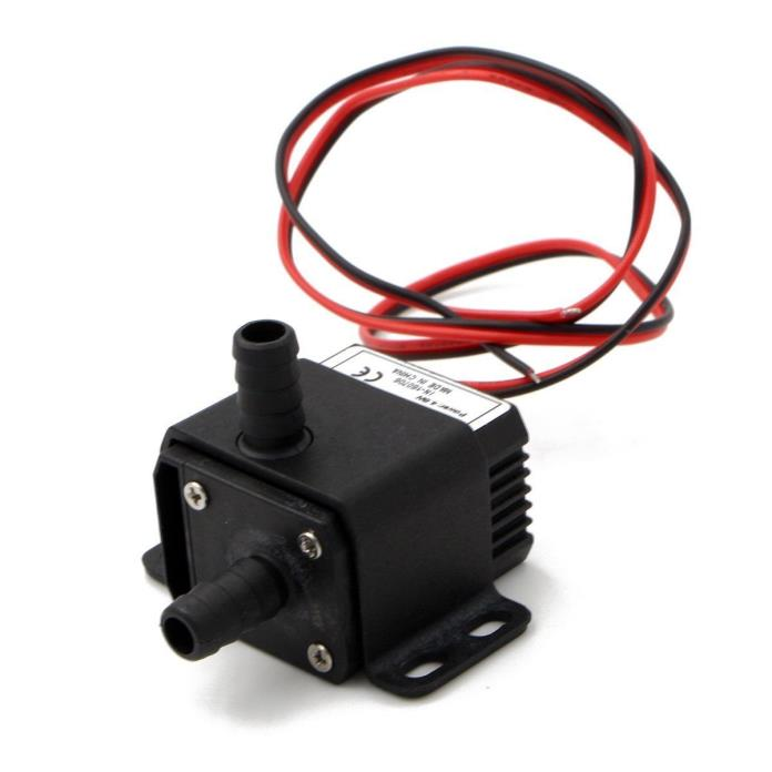 DC30A-1230 12V DC 2 Phase CPU Cooling Car Brushless Water Pump Waterproof Submer