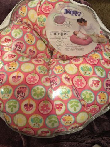Boppy Heirloom Newborn Lounger - Owl Dots